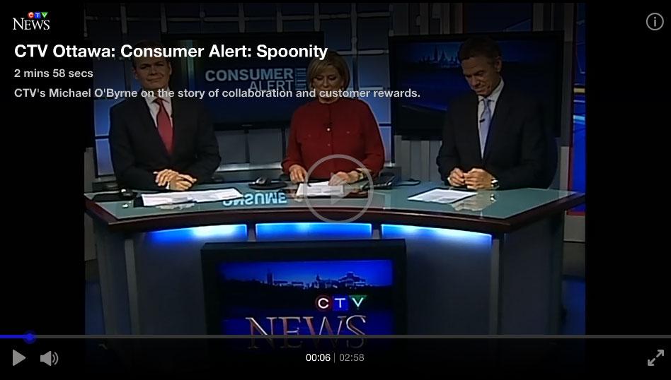 Spoonity on CTV News