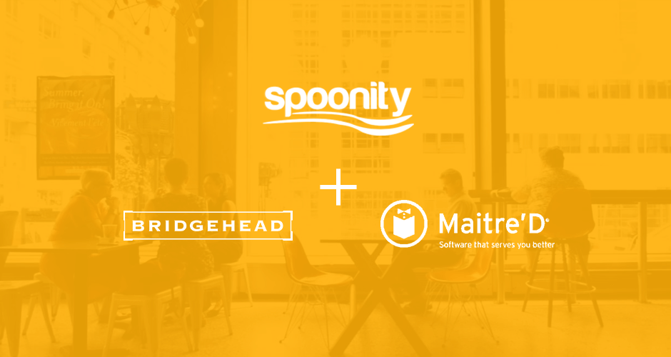 Spoonity Loyalty, Maitre'd POS , Bridgehead Coffee